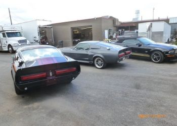 1967 Mustang GT500E and  1967 GT500