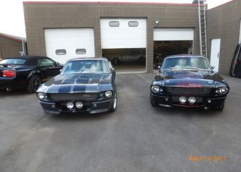 1967 Ford Mustang GT500E And a GT500