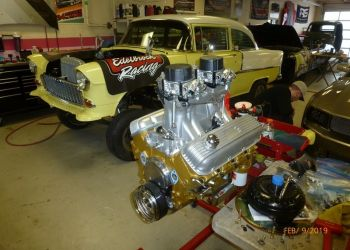 1955 Chevy Gasser 454 Chevy Big Block
