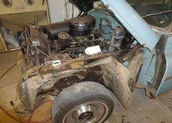 1953 Buick Roadmaster Full Disassembly Begins
