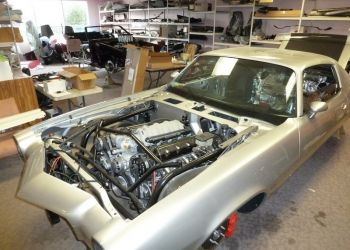 1970 Camaro Engine Bay Assembly