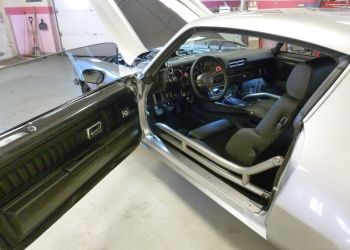 1970 Camaro Interior And Roll Bar