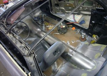 1972 Mustang Floor Fabrication