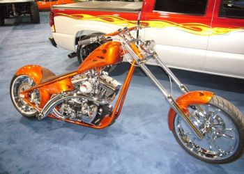 Custom Hand Built Paint Work On Both Bike and Truck