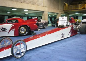 Dragster for Ace Manufacturing Race Team Dragster