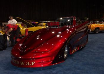 Red Wolf Funny Car