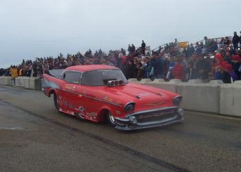1957 Chevy The Prospector Funny Car