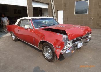 Damaged 1966 Chevelle