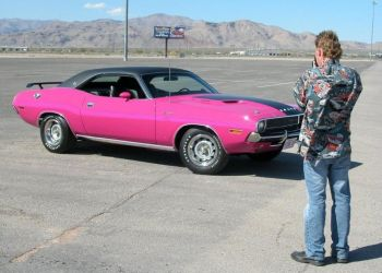 1970 Panther Pink Rare Challenger